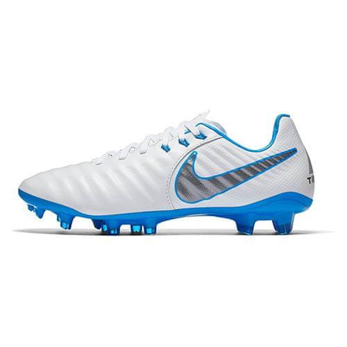 Nike JR LEGEND 7 ELITE FG, 20.   FABOTBALL / FOCCER   GRD ISKOLA UNSX   LOW TOP   FEHÉR / KRÓM-KÉK HERÓ-KRÓMA   4.5Y