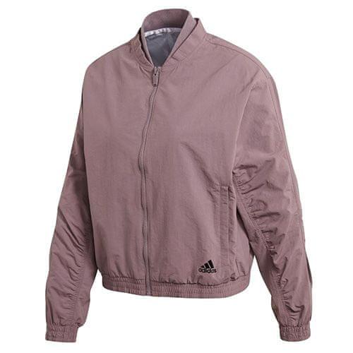 Adidas Dámská bunda , Woven Bomber Jacket | Fialová | S