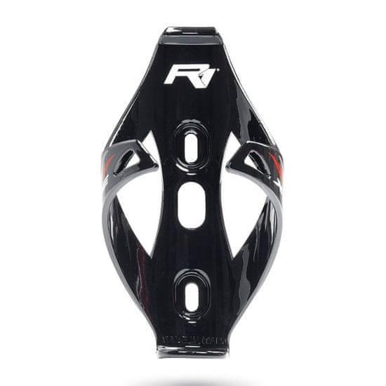 RaceOne X1 ONE košík na láhev - černý lesklý