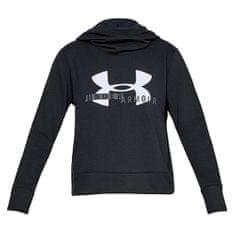 Under Armour Bawełniana bluza polarowa z kapturem Sportstyle Logo, Kobiety Damska odzież sportowa XS