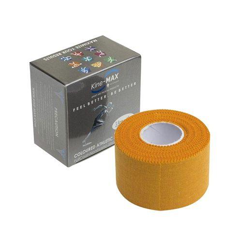 Kinemax Tejpovací páska Kine-MAX, Neelastická | Oranžová | 3,8 cm x 10 m