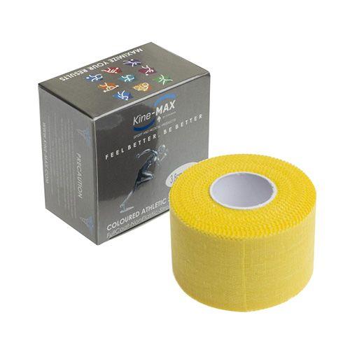Kinemax Tejpovací páska Kine-MAX, Neelastická   Žlutá   3,8 cm x 10 m