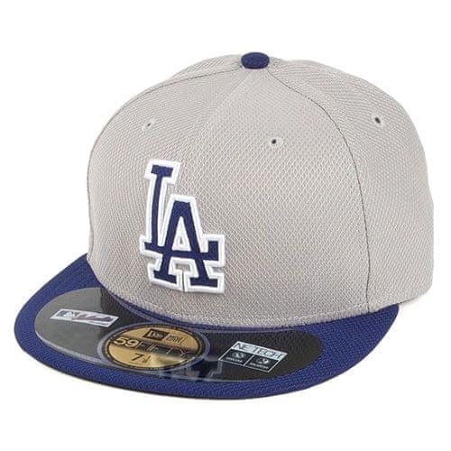 New Era Kšiltovka , Los Angeles Dodgers 59FIFTY | Šedá | 7