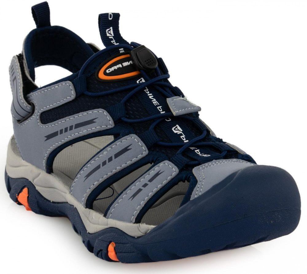 ALPINE PRO dětská letní obuv Liono 40 modrá