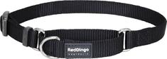 RED DINGO Állítható keményedés nylon gallér piros dingo fekete l