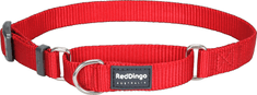 RED DINGO Állítható haldokló nylon gallér piros dingo piros l