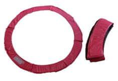 Too Much obroba za trampolin, 397 cm, roza