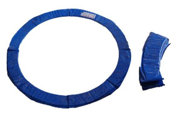 Too Much obroba za trampolin, 488 cm, modra