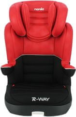 Nania R-WAY ISOFIX RED LUXE 2020