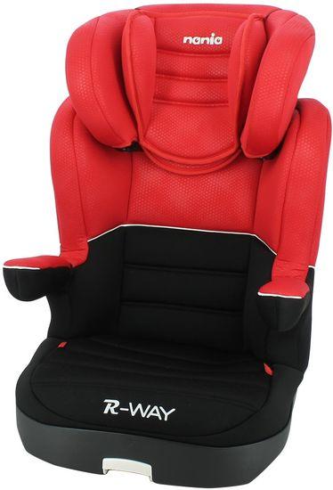 Nania otroški avtosedež R-Way Isofix Red Luxe 2020