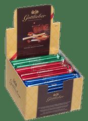 Gottlieber XXL Švýcarské čokoládové trubičky - příchuť praliné, mocca a čokoláda gianduja, 50 ks, 750 g. Switzerland's Finest Since 1928