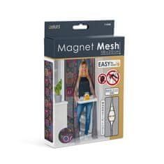 Delight Magnetna mreža proti komarjem in mrčesu za vrata 210 x 100 cm sovice