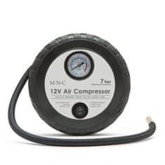 M.N.C. Mini 12V kompresor 7 bar za polnjenje avto moto pnevmatik z 3 nastavki