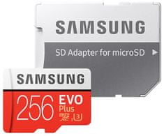Samsung micro SDXC 256GB EVO Plus + SD adaptér (MB-MC256HA/EU)