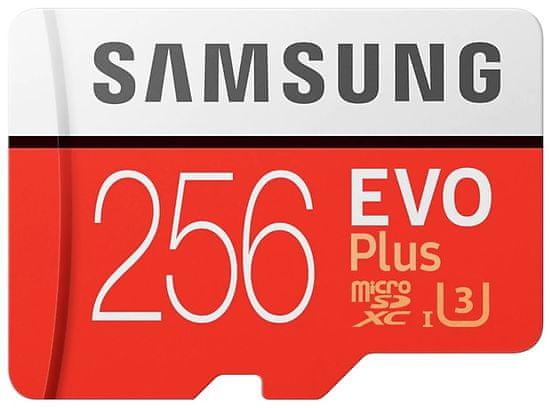 Samsung micro SDXC 256GB EVO Plus + SD adaptér (MB-MC256HA/EU)