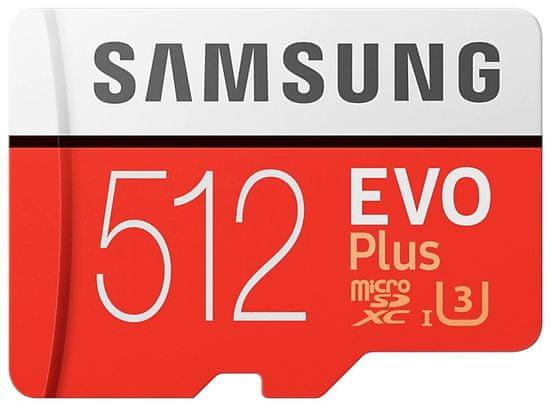 Samsung Karta micro SDXC 512GB EVO Plus + adapter SD (MB-MC512HA/EU)
