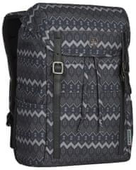 Wenger COHORT - 16″ batoh na notebook 606475, černý native print