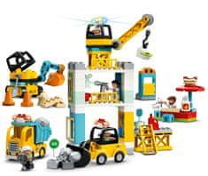 LEGO DUPLO® Town 10933 Építkezés toronydaruval