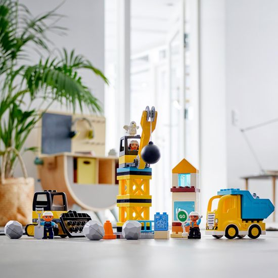 LEGO Duplo® Town 10932 Rušenje na gradilištu