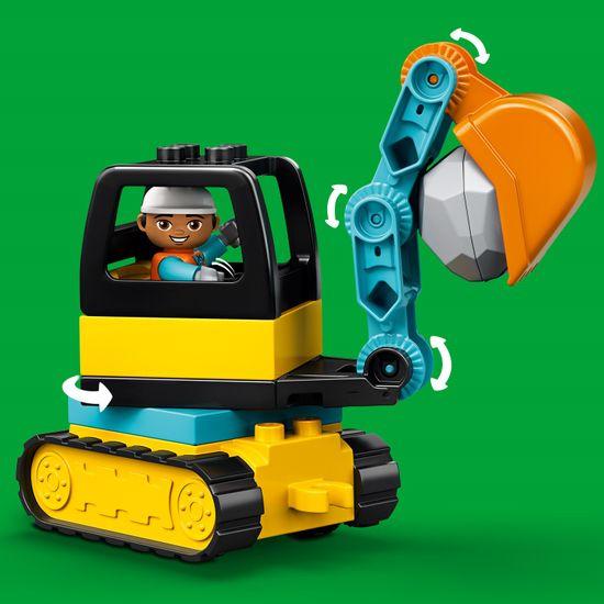 LEGO Duplo® Town 10931 Nakladalec in tovornjak prekucnik