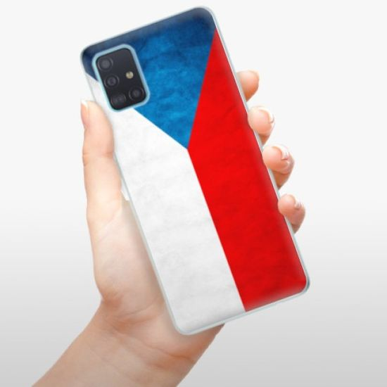 iSaprio Czech Flag szilikon tok Samsung Galaxy A51