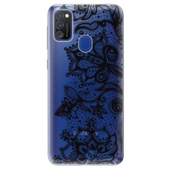 iSaprio Black Lace szilikon tok Samsung Galaxy M21