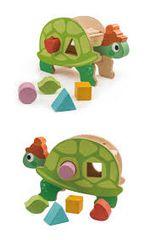 Tender Leaf Toys Dřevěná vkládačka Želva
