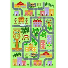 Tempo Kondela Koberec, vícebarevný, 100x150, EBEL