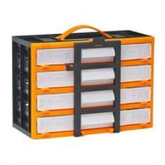 Handy Prenosni organizator za drobni elektromaterial s predalčki and 310 x 165 x 220 mm
