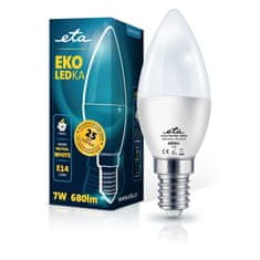 ETA LED žarnica, E14, 7 W, nevtralno bela