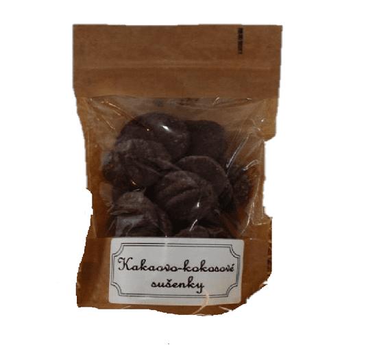 Pražírna Drahonice Kokosovo - kakaové sušenky 80g