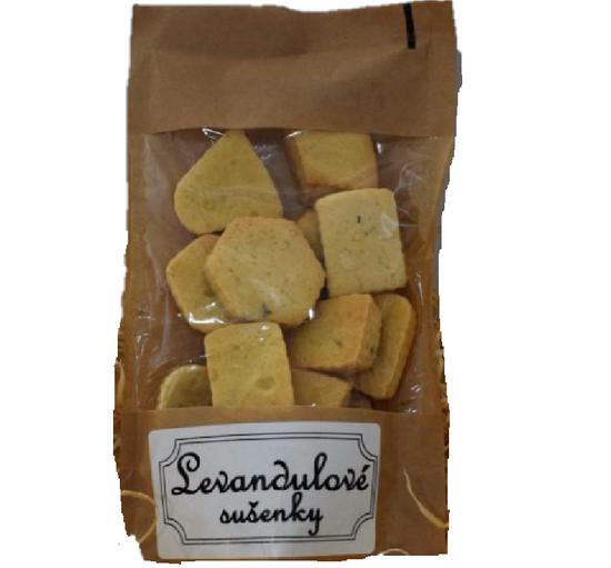 Pražírna Drahonice Levandulovo-pomeračové sušenky 80g