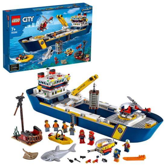 LEGO City 60266 Oceanska izvidniška ladja