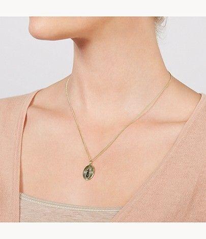 Fossil Dámský náhrdelník peříčko JF03246710