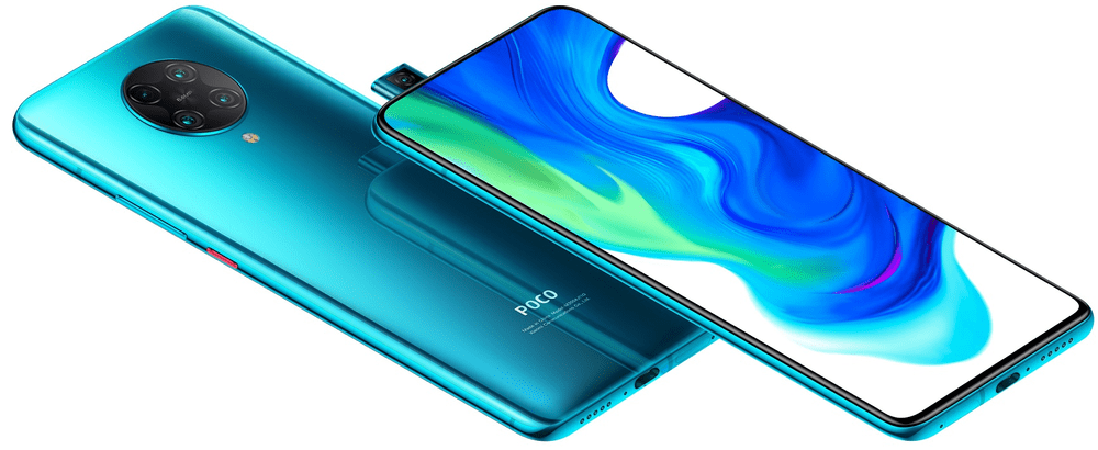 Xiaomi Poco F2 Pro, 6GB/128GB, Neon Blue - použité