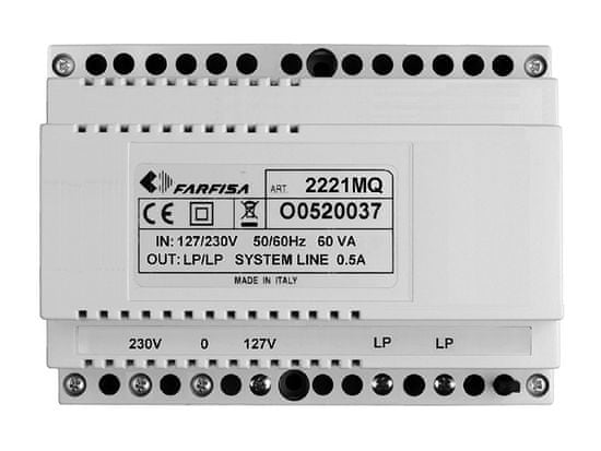 ACI Farfisa 2221MQ - linkový napájecí zdroj pro DUO systém