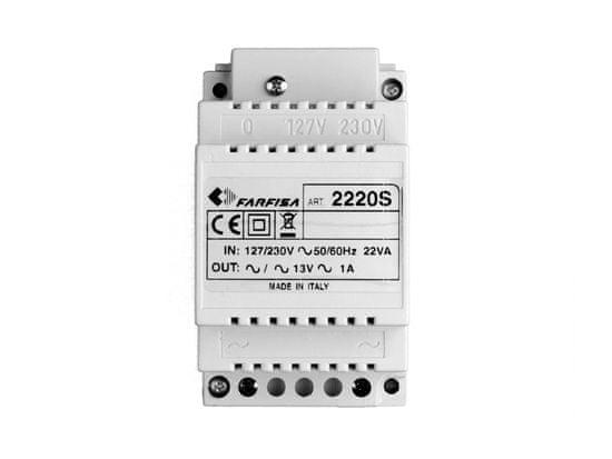 ACI Farfisa 2220S - napájecí zdroj pro dveř. stan. DUO sys.