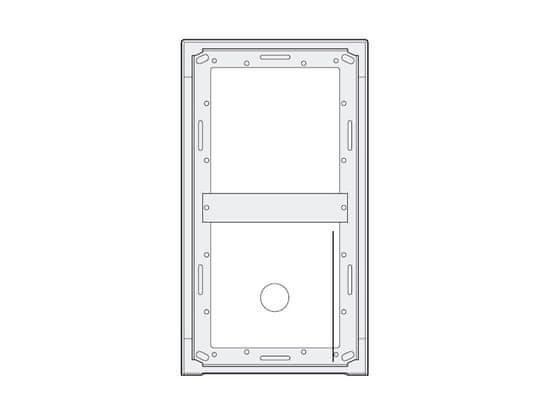 ACI Farfisa MA92 - povrchová montážní krabička 2 moduly