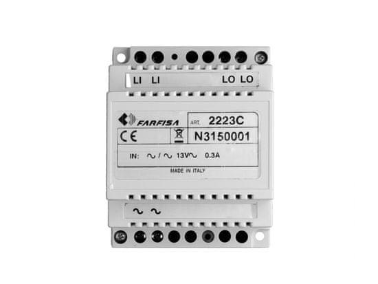 ACI Farfisa 2223C - zesilovač video signálu DUO systém