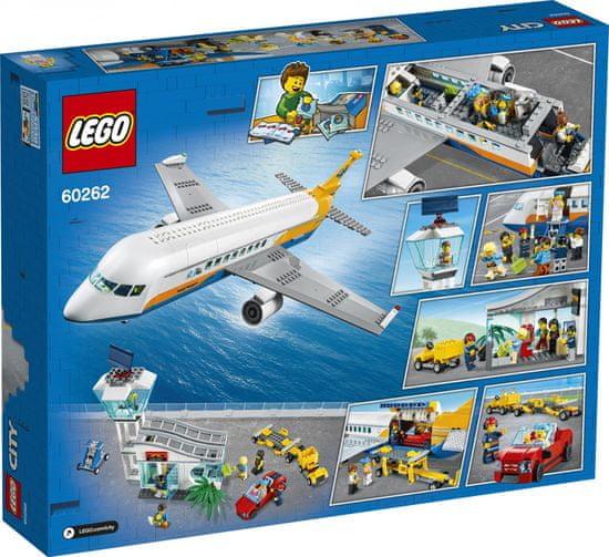 LEGO City 60262 Samolot pasażerski