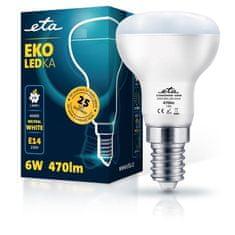 ETA LED žarnica, R50, E14, 6 W, nevtralno bela