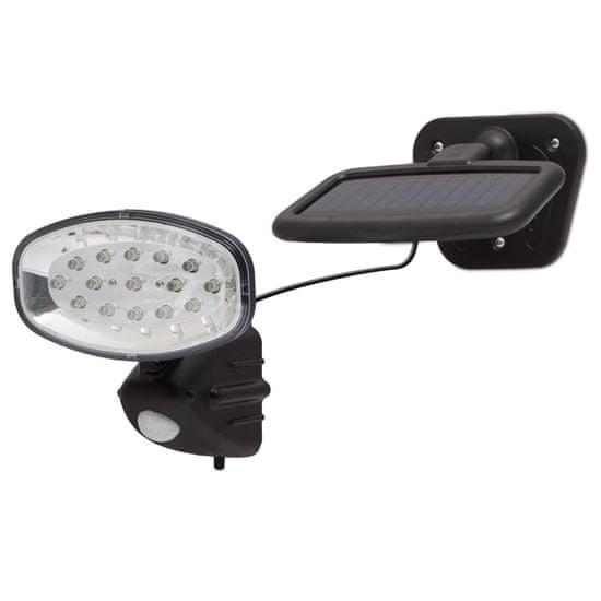 PHENOM LED solarni reflektor s senzorjem gibanja in solarnim panelom