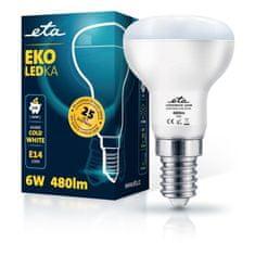 ETA LED žarnica, R50, E14, 6 W, hladno bela