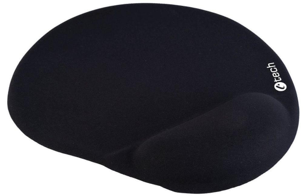 C-Tech ergonomická podložka, černá (MPG-03BK)