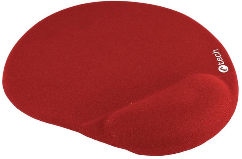 C-Tech ergonomická podložka, červená (MPG-03R)