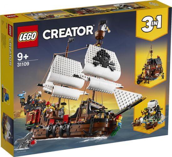 LEGO Creator 31109 Gusarska ladja