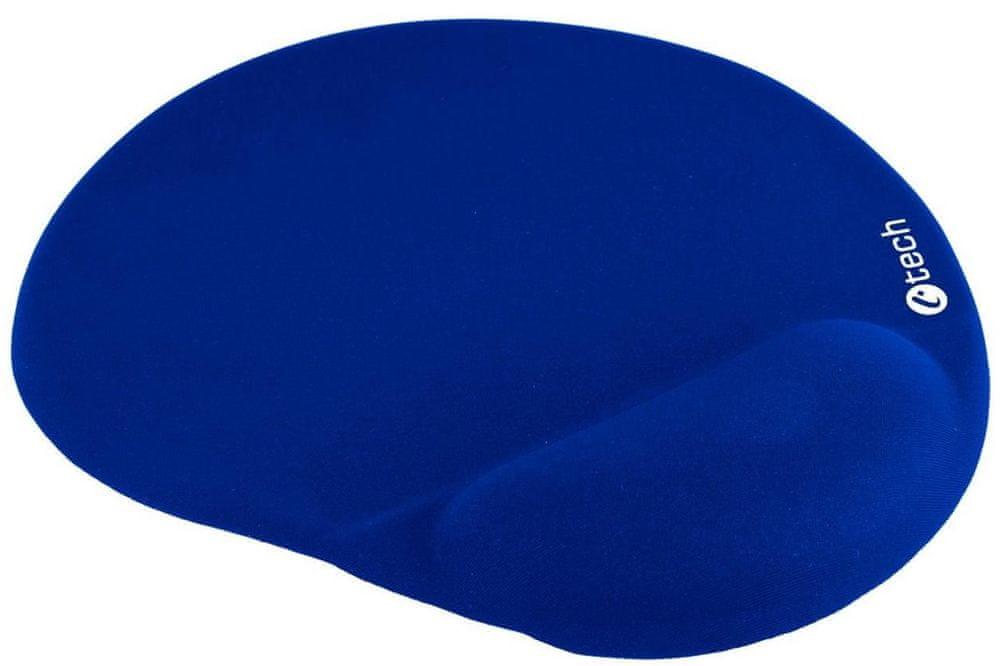 C-Tech ergonomická podložka, modrá (MPG-03B)