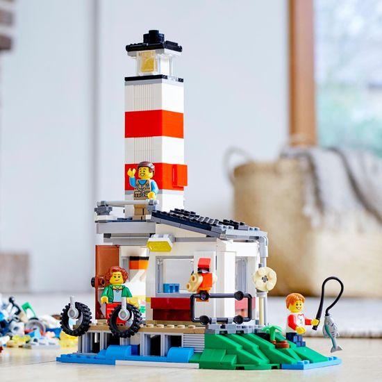 LEGO Creator 31108 Družinski dopust v počitniški prikolici - odprta embalaža