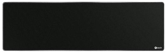 C-Tech podkładka pod mysz i klawiaturę, czarna (MP-01XL-BK)