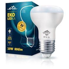 ETA LED žarnica, R63, E27, 10 W, toplo bela